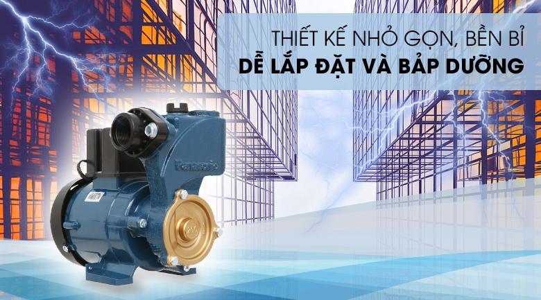 Máy bơm nước đẩy cao Panasonic GP-200JXK-SV5 200W - Thiết kế nhỏ gọn, bền bỉ và tiết kiệm năng lượng