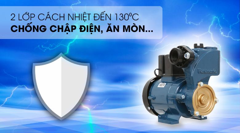 Máy bơm nước đẩy cao Panasonic GP-200JXK-SV5 200W - 2 lớp cách nhiệt