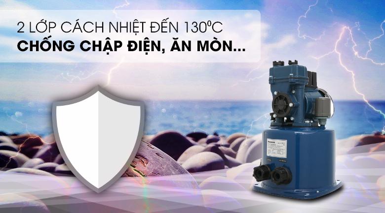 Máy bơm nước tăng áp Panasonic A-130JTX 125W - 2 lớp cách nhiệt