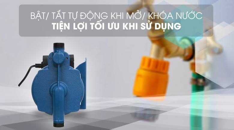 Tiện lợi với hệ thống tự động mở/tắt khi có nguồn nước - Máy bơm nước tăng áp Kangaroo KG 180ZP 180W