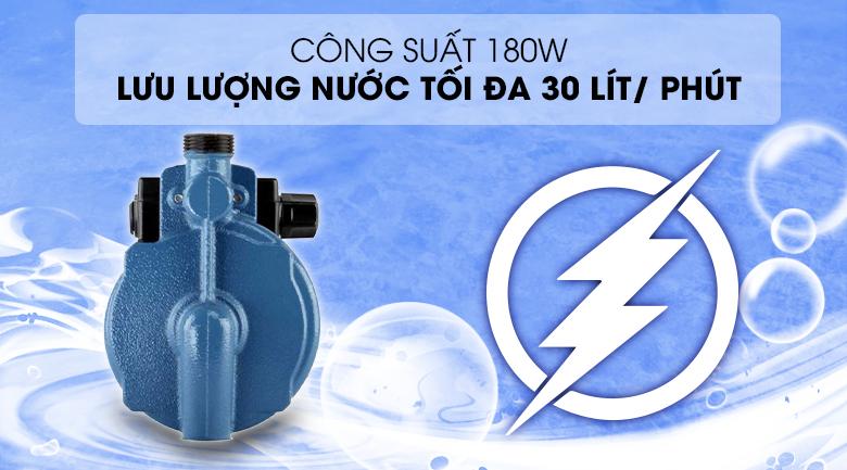 Công suất 180W - Máy bơm nước tăng áp Kangaroo KG 180ZP 180W