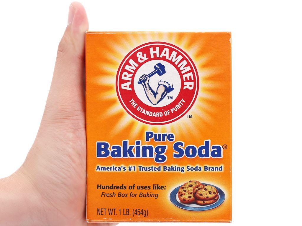 Bột nổi baking soda Arm & Hammer hộp 454g 6