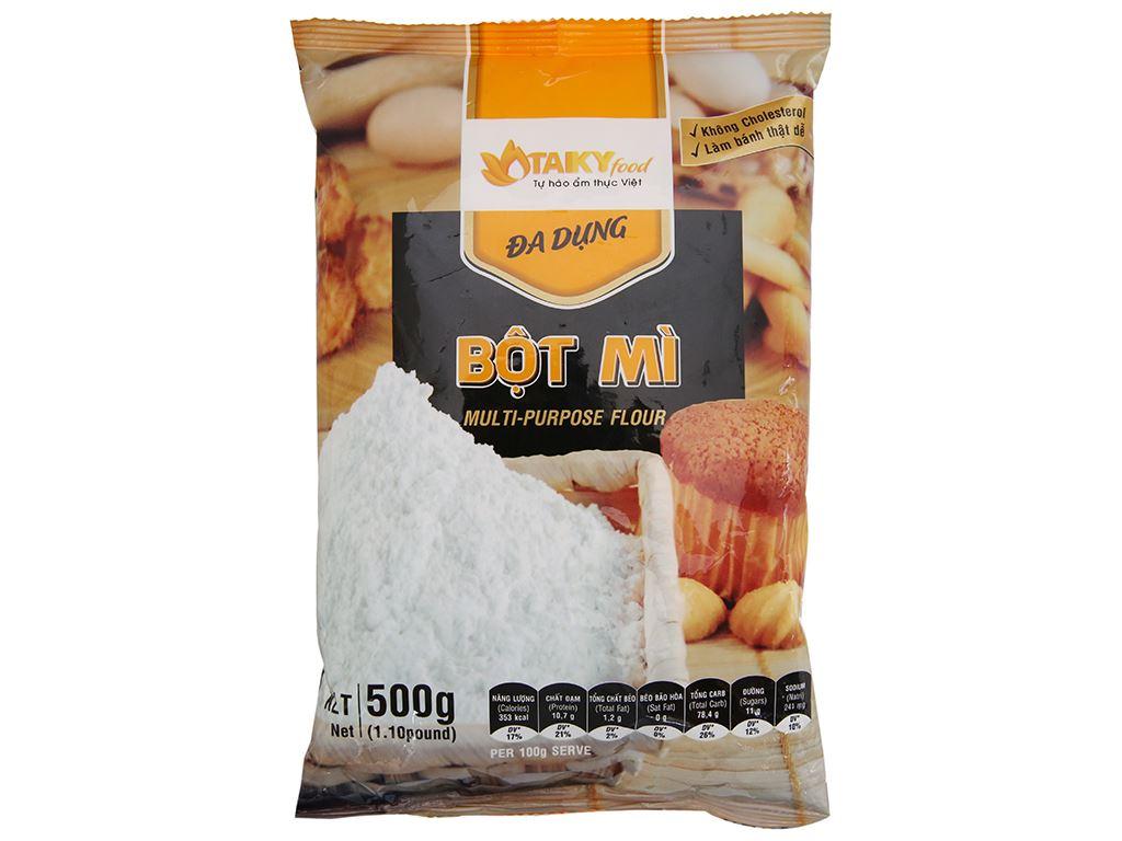 Bột mì đa dụng Tài Ký gói 500g 2