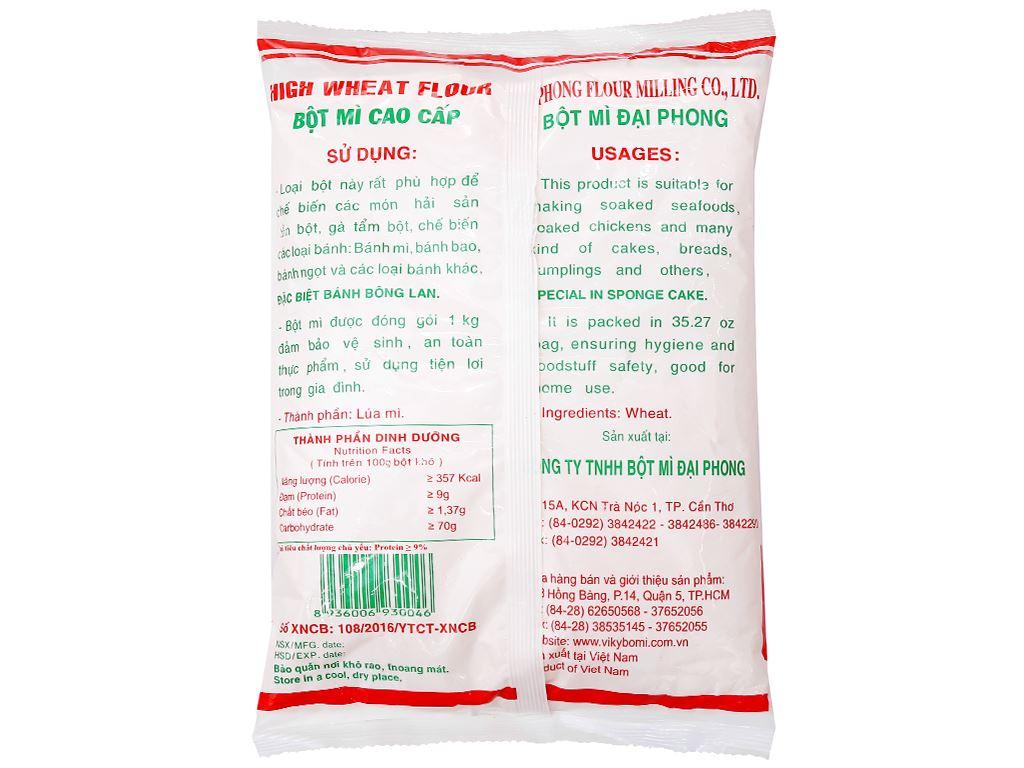 Bột mì đa dụng Táo Đỏ số 8 túi 1kg 2