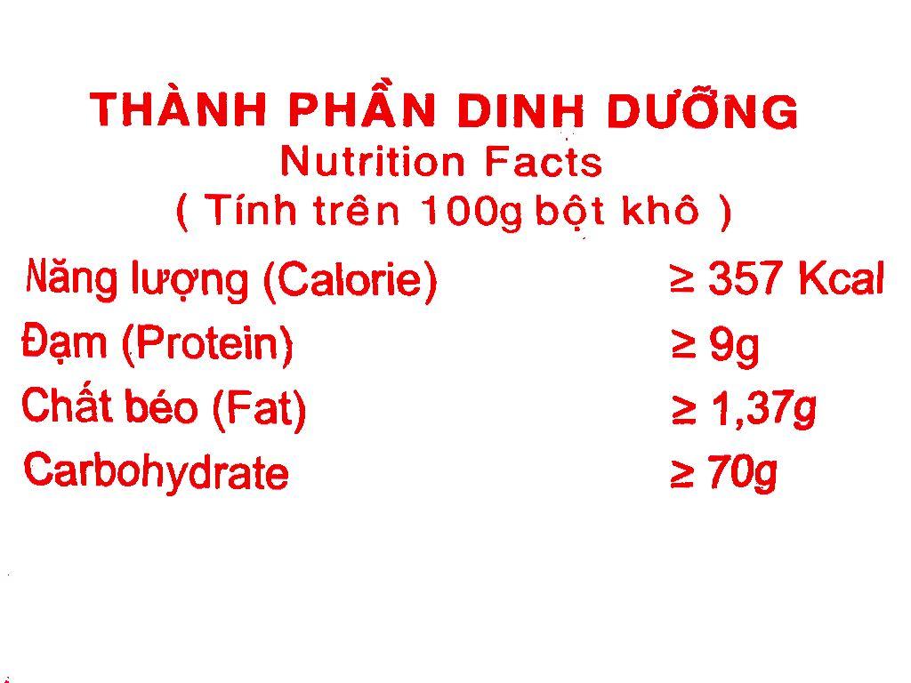 Bột mì đa dụng Táo Đỏ số 8 túi 1kg 5