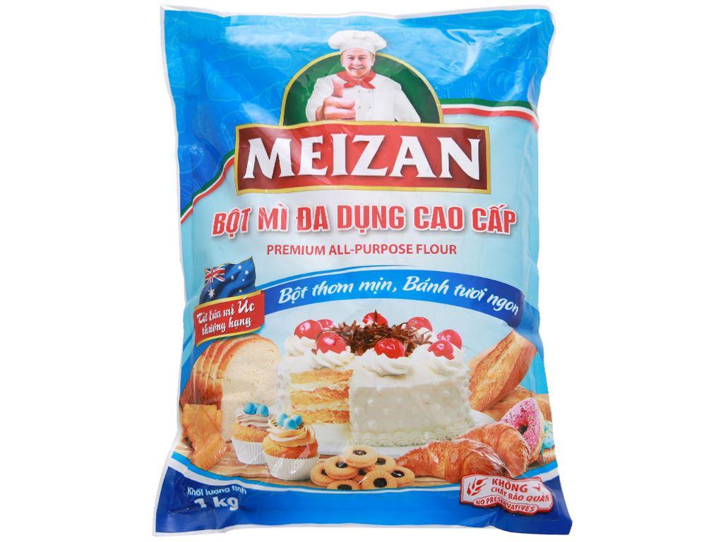 Bột mì đa dụng Meizan cao cấp túi 1kg 1