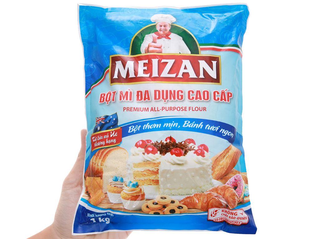 Bột mì đa dụng Meizan cao cấp gói 500g 4