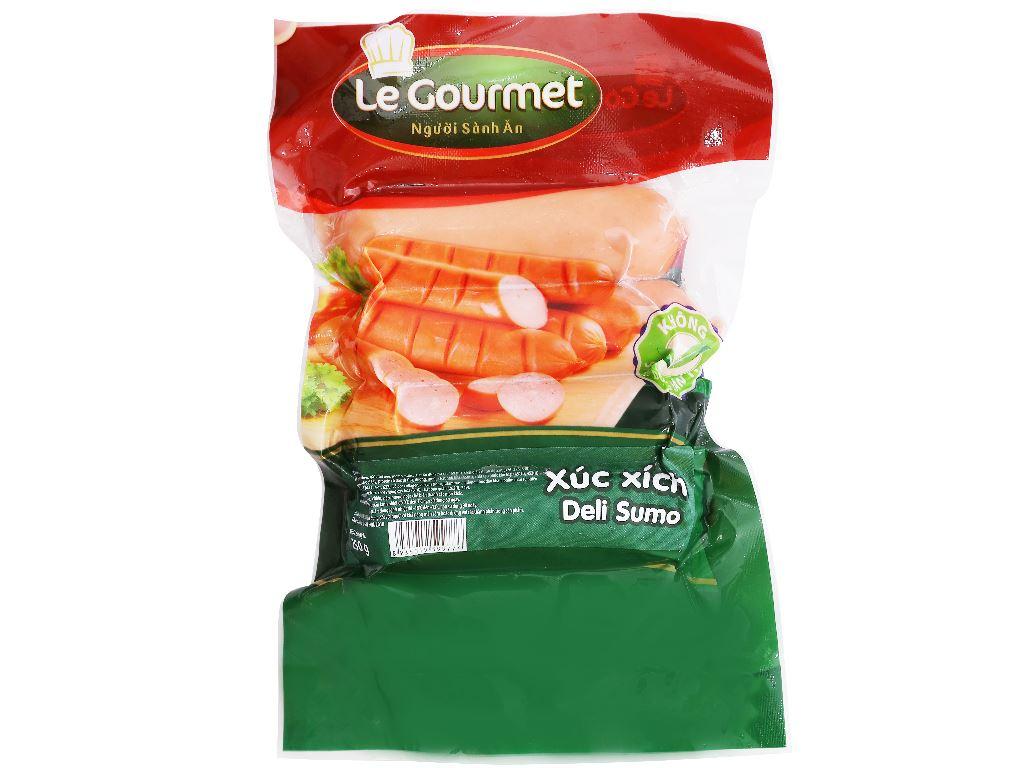 Xúc xích Deli Sumo Le Gourmet gói 250g 1