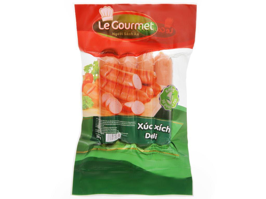 Xúc xích Deli Le Gourmet gói 200g 1