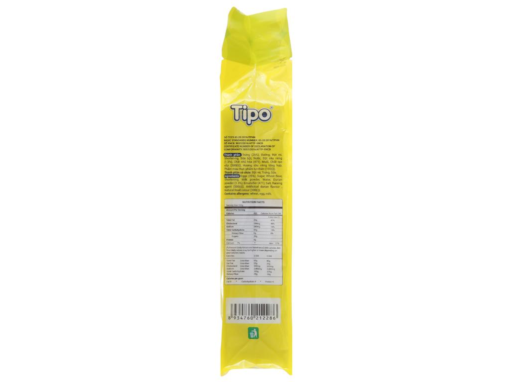 Bánh trứng kem sầu riêng Tipo gói 220g 2