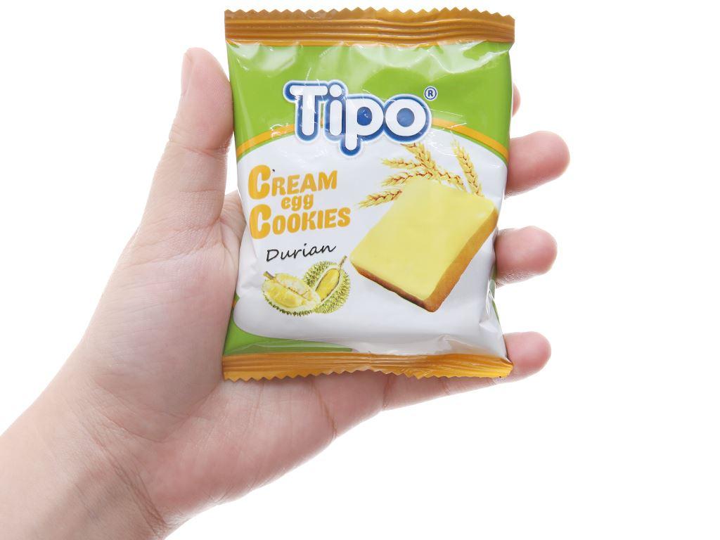 Bánh trứng kem sầu riêng Tipo gói 220g 3