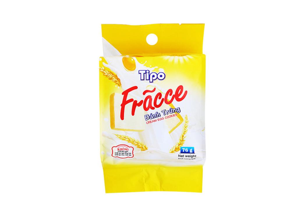 Bánh trứng Tipo Fracce gói 76g 2