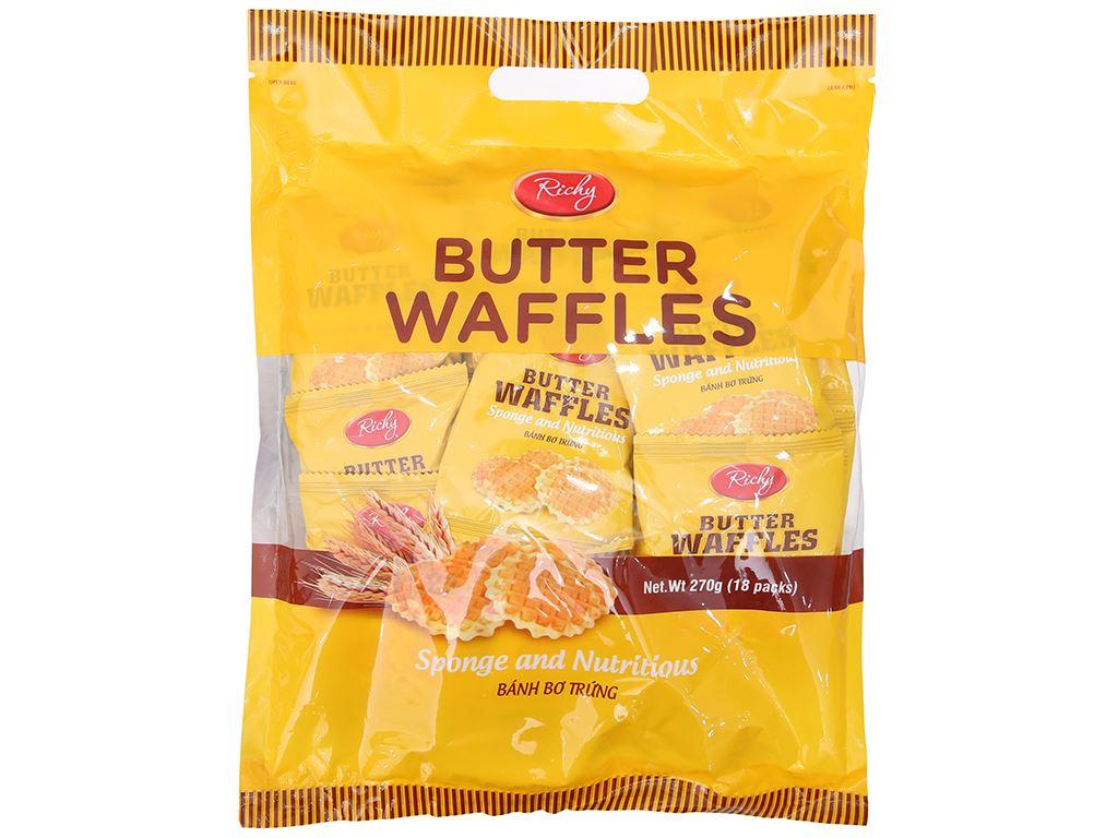 Bánh bơ trứng Richy gói 270g 1