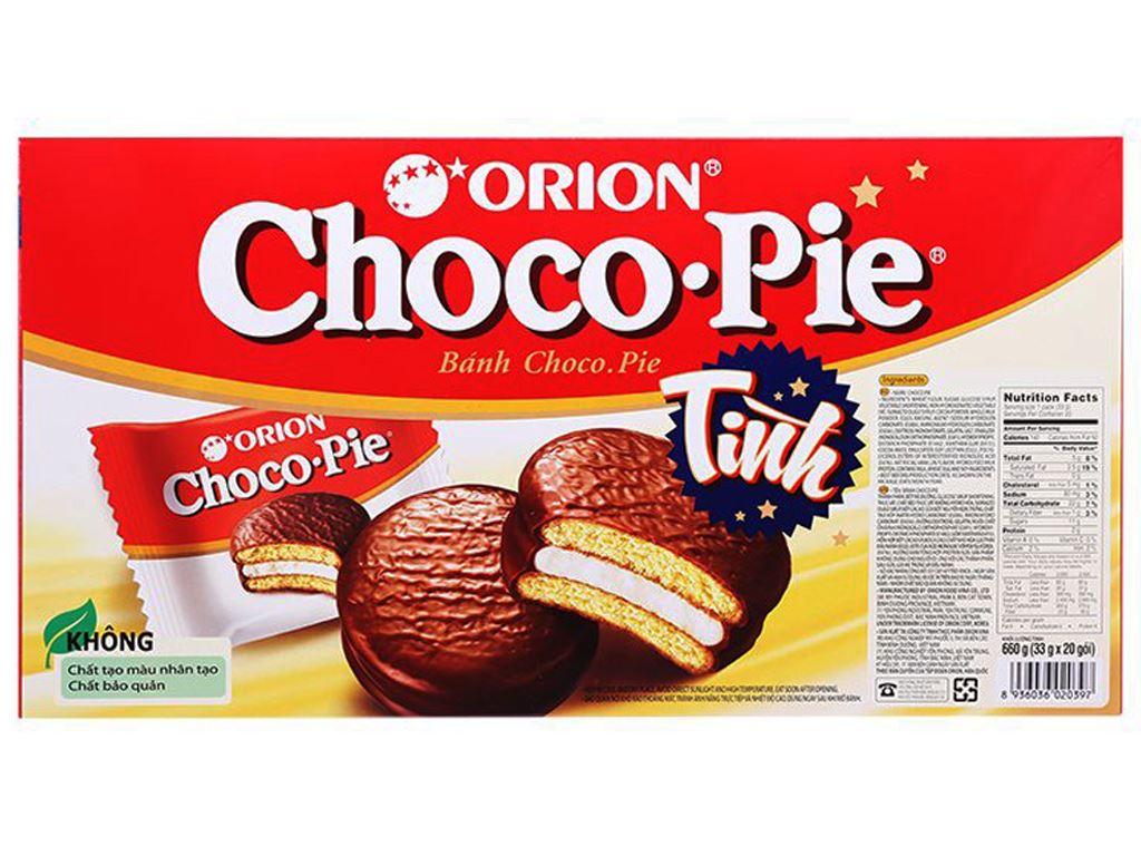 Bánh Choco-pie hộp 660g (20 cái) 2