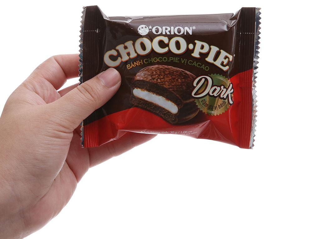 Bánh vị ca cao Choco-pie Dark hộp 360g (12 cái) 2