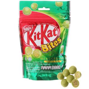 Bánh xốp phủ trà xanh KitKat Bites gói 150g