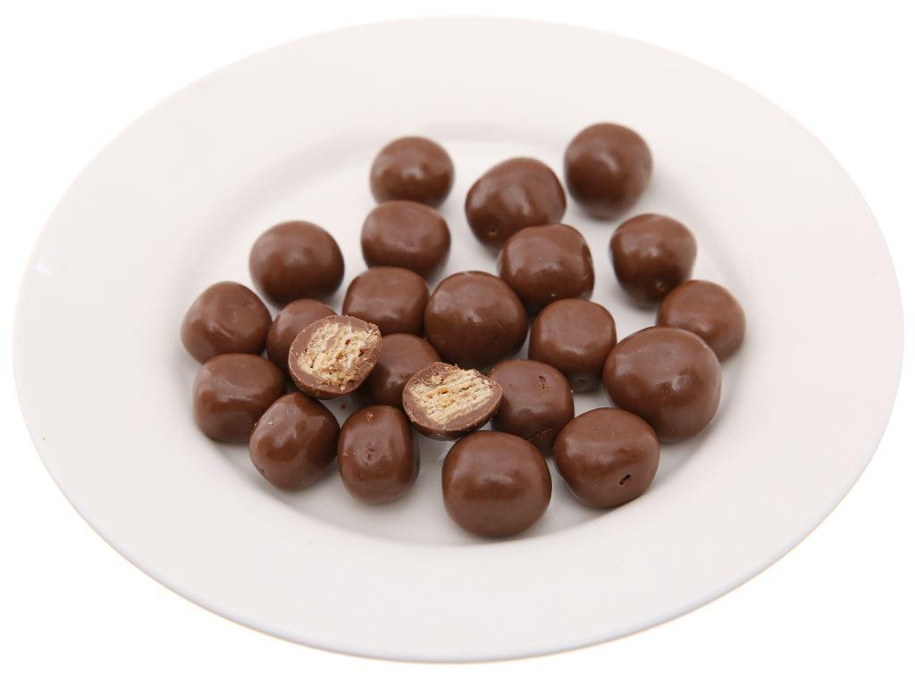 Bánh xốp phủ socola KitKat Bites gói 40g 4