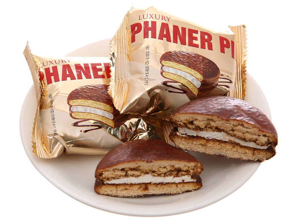 Bánh socola kem marshmallow Phaner Pie Luxury hộp 504g (18 cái) 4
