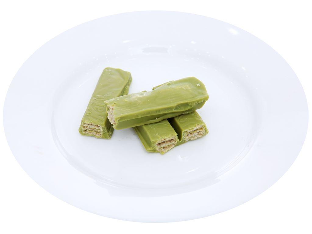 Bánh xốp phủ trà xanh KitKat thanh 17g 4
