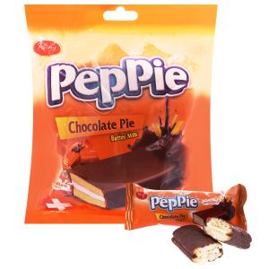 Bánh phủ socola kem bơ sữa Richy Peppie 216g