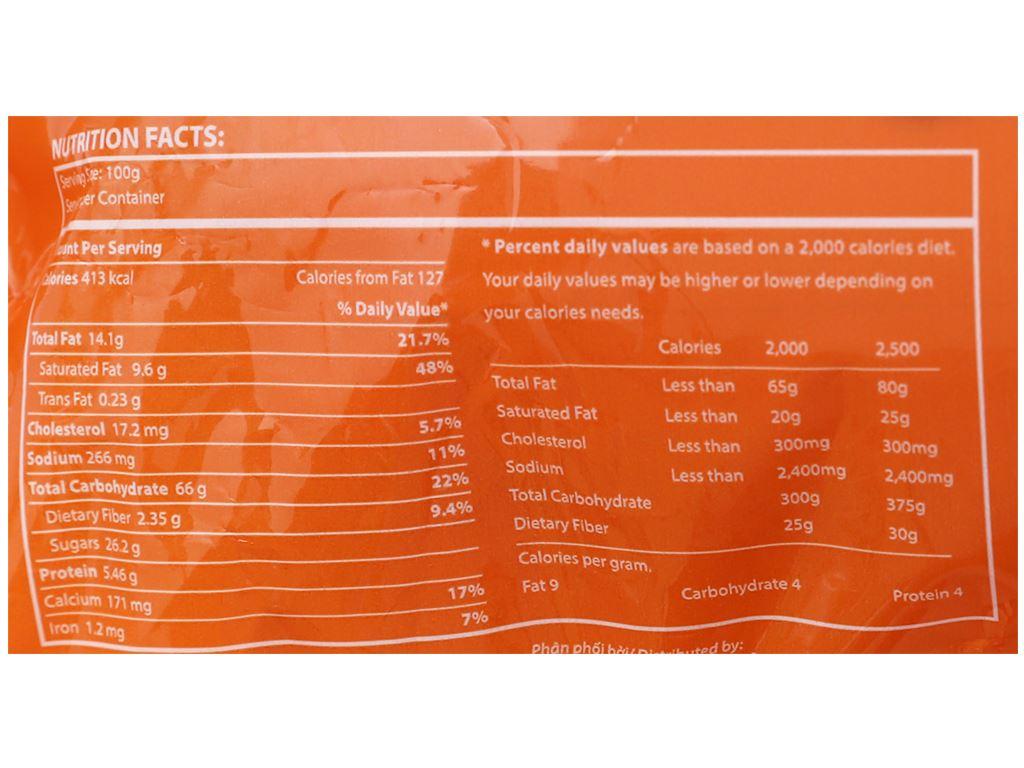 Bánh phủ socola kem bơ sữa Richy Peppie gói 216g 5