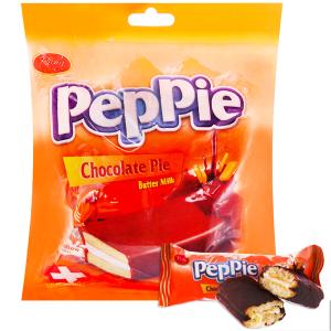 Bánh phủ socola kem bơ sữa Richy Peppie gói 216g