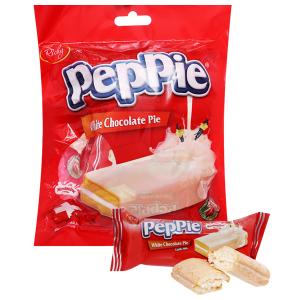 Bánh phủ socola trắng Richy Peppie 216g