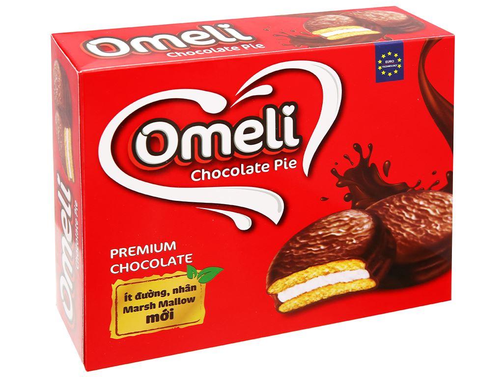 Bánh Omeli Chocolate Pie hộp 300g 1