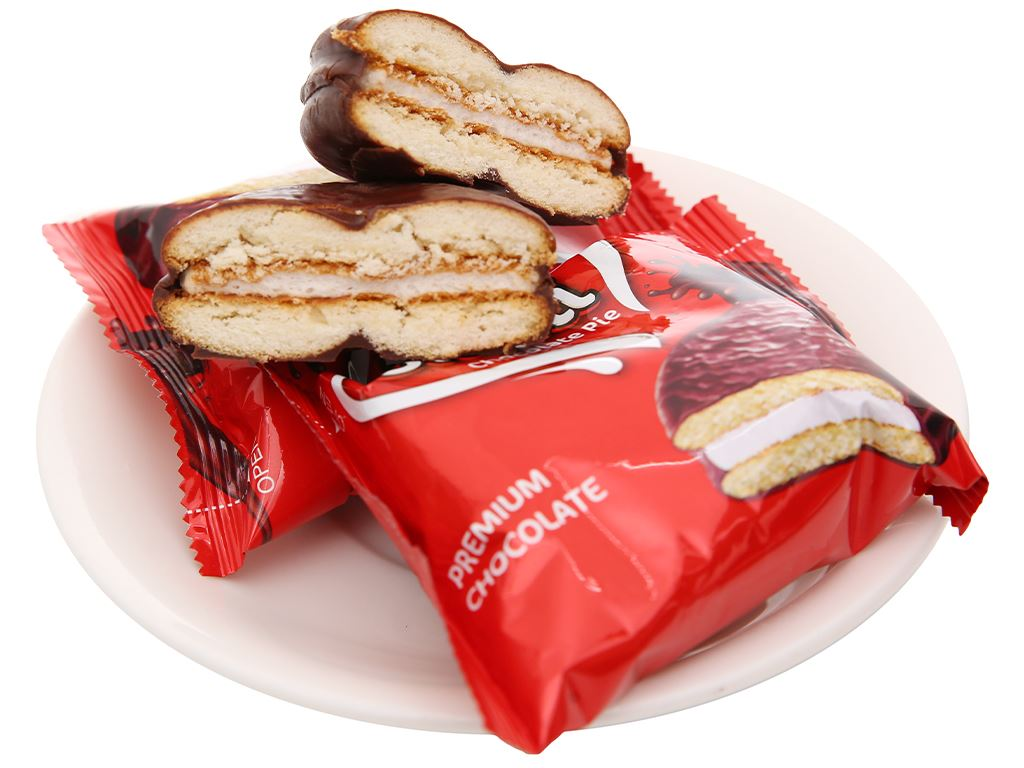 Bánh Omeli Chocolate Pie hộp 300g 6