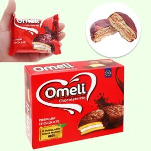 Bánh Omeli Chocolate Pie hộp 300g