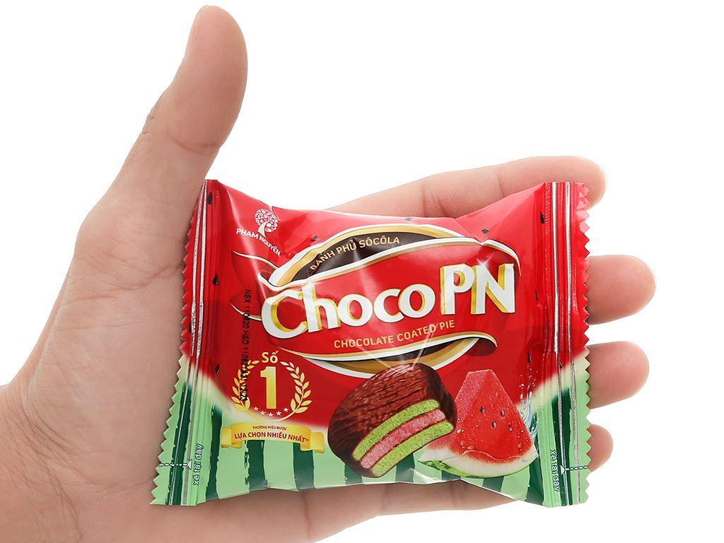 Bánh socola kem vị dưa hấu mát lạnh Choco PN gói 204g (12 cái) 5