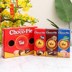Bánh Choco-pie Orion 3 vị 372g