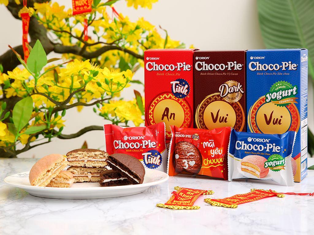 Bánh Choco-pie Orion 3 vị 372g 3