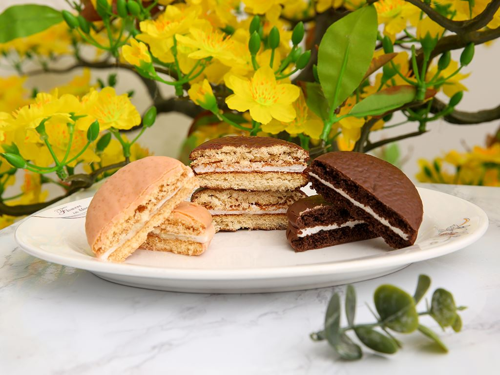 Bánh Choco-pie Orion 3 vị 372g 4