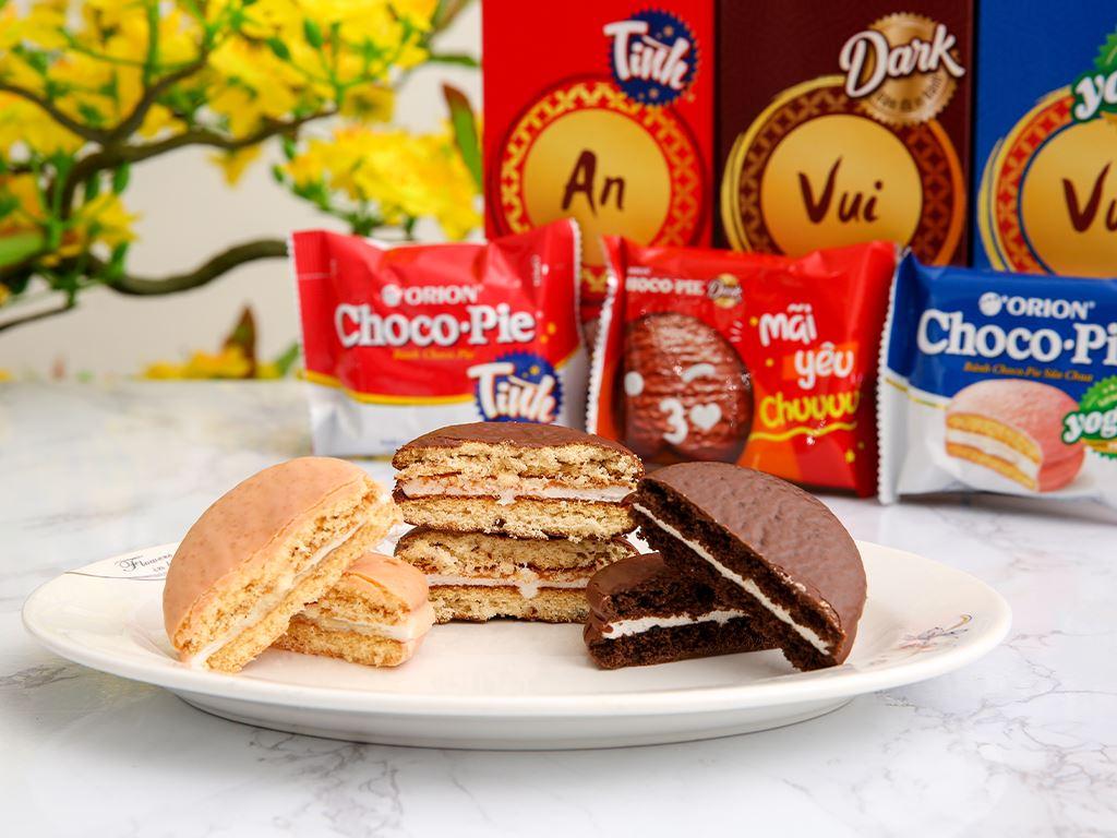Bánh Choco-pie Orion 3 vị 372g 5