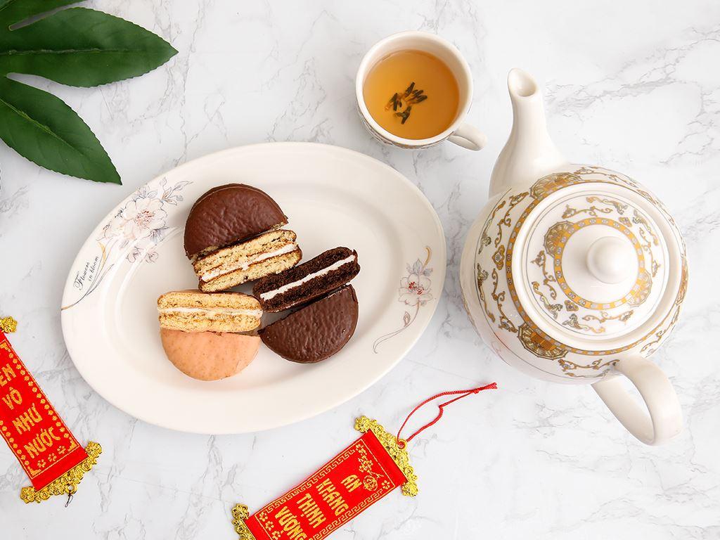 Bánh Choco-pie Orion 3 vị 372g 6