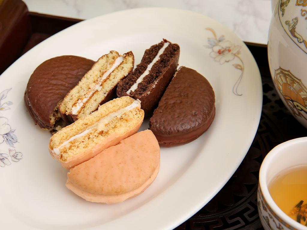 Bánh Choco-pie Orion 3 vị 372g 7