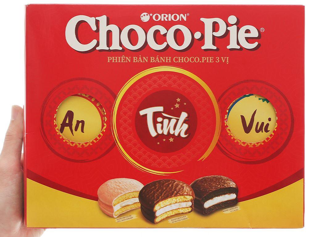 Bánh Choco-pie Orion 3 vị 372g 8