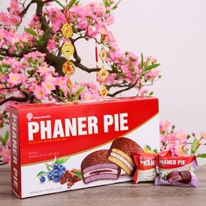 Bánh hỗn hợp socola chanh tây và việt quất Phaner Pie 448g