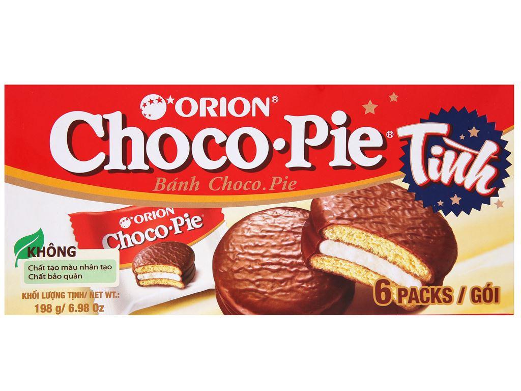 Bánh Choco-pie hộp 198g (6 cái) 5