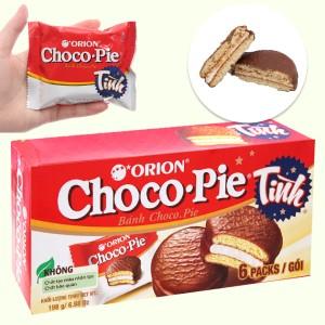 Bánh Choco-pie hộp 198g (6 cái)