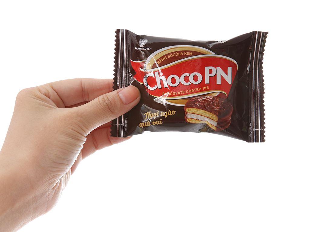 Bánh socola kem Choco PN gói 216g (12 cái) 4