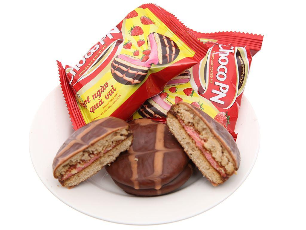 Bánh socola kem nhân marshmallow và mứt dâu Choco PN hộp 264g (12 cái) 5