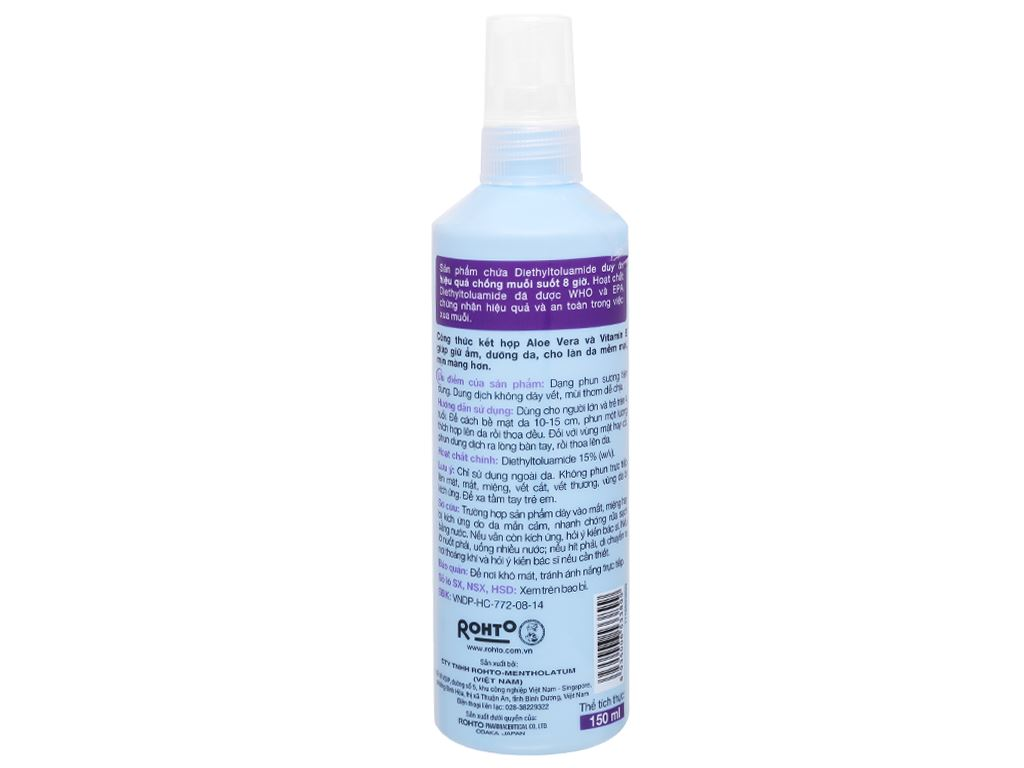 Xịt chống muỗi Remos hương Lavender 150ml 2