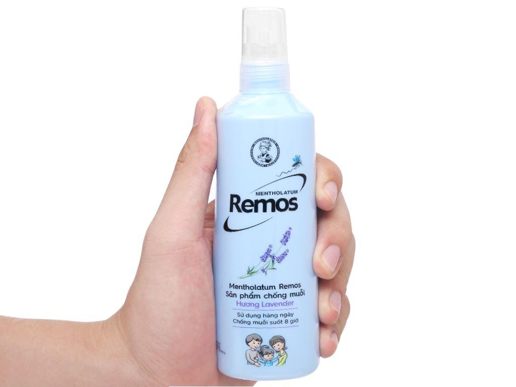 Xịt chống muỗi Remos hương Lavender 150ml 5