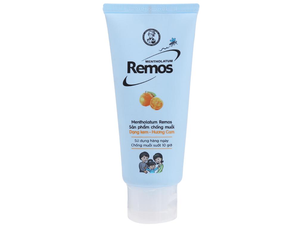 Kem chống muỗi Remos hương cam 70g 1