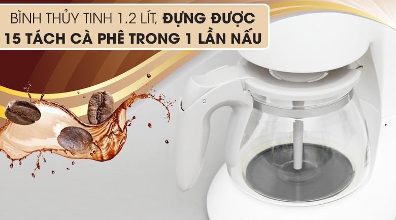 Bình chứa thủy tinh - Máy pha cà phê Philips HD7447