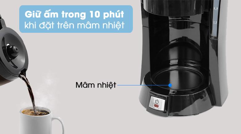 Giữ ấm 10 phút - Máy Pha Cà Phê Delonghi ICM15210.1