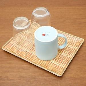 Khay nhựa úp ly vân gỗ 25.5x19.5 cm Điện Máy XANH AS25 (giao màu ngẫu nhiên)