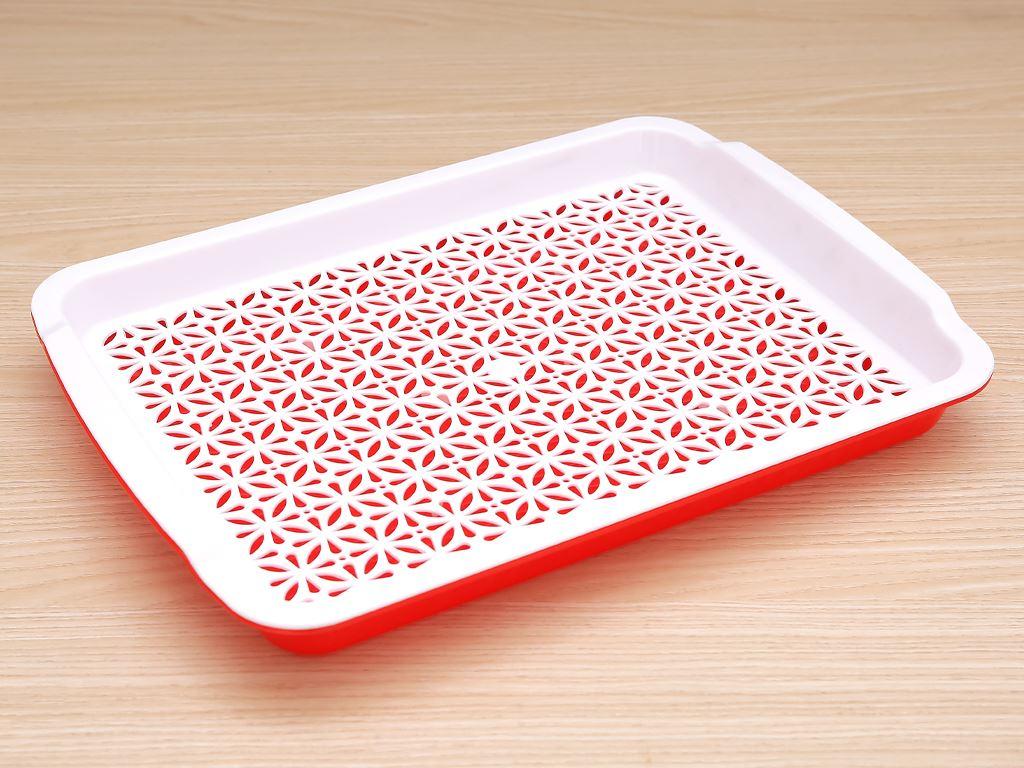 Khay nhựa úp ly 35.7cm x 26.4cm Duy Tân (giao màu ngẫu nhiên) 1